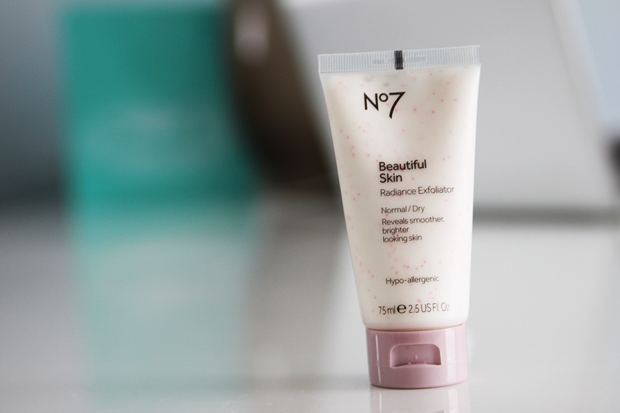 Boots No7 Beautiful Skin Radiance Exfoliater