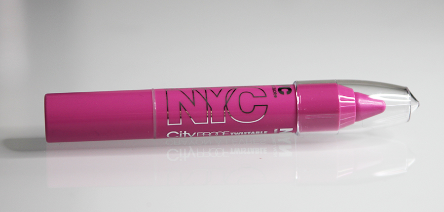 NYC Cityproof Twistable Intense Color Lipbalm