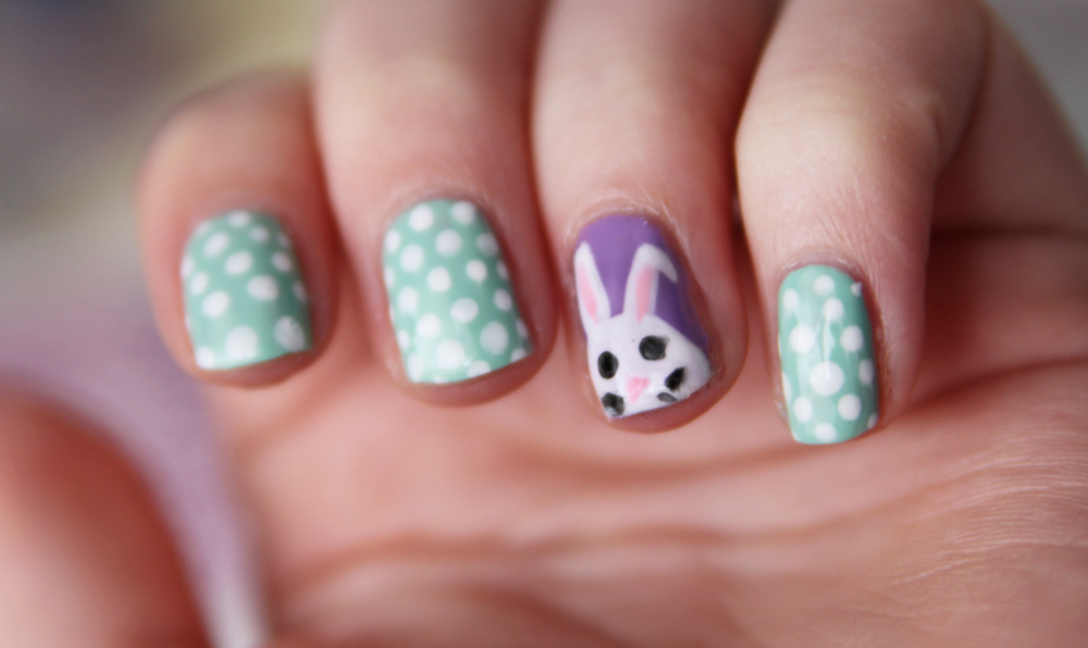 Easter nailart