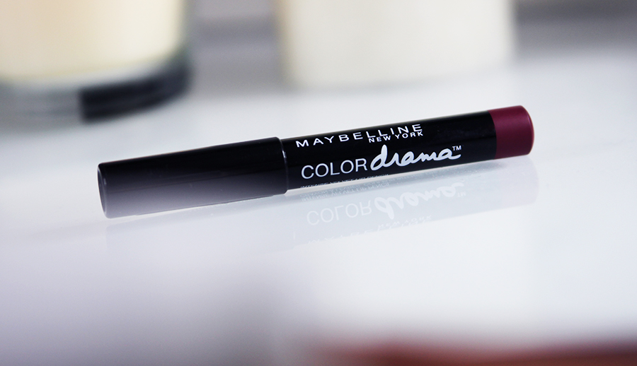 maybelline color drama intense velvet lip pencil berry much